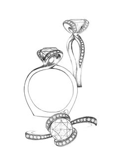 Designing NEW bridal & we need your help! We'll post 1 ring a day. Vote for your favorite & see if it comes to life!