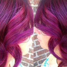 #Aquage #BrittanyAtDanaLauren #DanaLaurenSalon #clevelandstylist #SilkeningOil #BeyondBody #VolumizingFixHairspray #BeyondShine #joico #amethystpurple #magenta #joicointensity #nofilter #behindthechair #btc #btcpics #modernsalon #americansalon #hairbrained