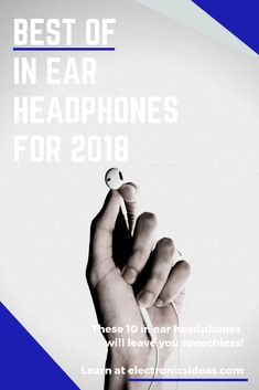 These best in ear headphones of will give you eargasms. Come and check what we have to say about the design, preformance, Pros & Cons of our top ten! Best In Ear Headphones, Top Ten, Sayings, Learning, Music, Check, Design, Musica, Musik