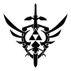 Outlaw Custom Designs, LLC - Zelda - Skyward Sword Logo