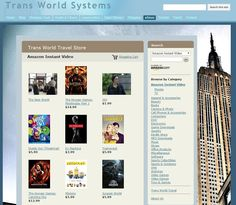 Trans World Travel: Amazon store launched