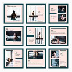 Layout Do Instagram, Instagram Square, Instagram Grid, Instagram Post Template, Instagram Design, Free Instagram, Instagram Posts, Organizar Feed Instagram, Social Media Design