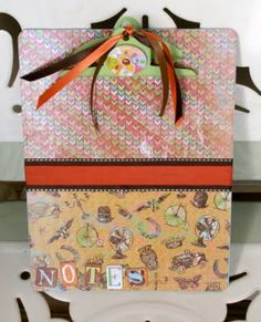 Decorate a clipboard - makes a great gift. ~ Mod Podge Rocks!