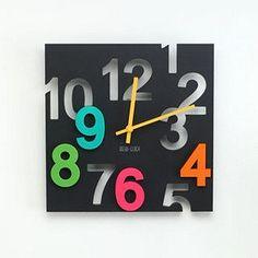 Funk This House | Funky Alternative Wall Clocks | http://funkthishouse.com