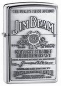 Zippo Jim Beam Pewter Emblem High Polish Chrome Lighter #elighters #jimbeam #whiskey #zippo #lighter #alcohol #bourbon