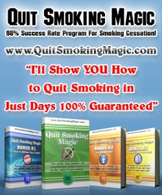 Quit Smoking Magic - New!! - Quit Smoking Magic Is The Best Way To Stop Smoking Program You'll Find. Our Exceptional Landing Page And Design Make This Product Sell Like Crazy! Low Refund Rate And Great Material For Affiliates. Http://www.quitsmokingmagic.com/affiliates.html 25$!  - http://ehowsuperstore.com/quit-smoking-magic-new/