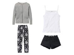 ESMARA®Lingerie Dámské pyžamo, 4dílná...   LIDL-SHOP.CZ Lidl, Sweatpants, Lingerie, Shopping, Fashion, Moda, Lingerie Set, Fasion, Sweat Pants