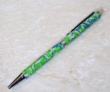 Slim line Ball Point Pen OOAK Handmade Polymer clay art $18.99 Polymer Clay Pens, Handmade Polymer Clay, Slim, Ebay