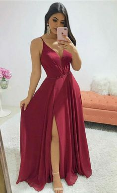 Evening Dresses Petite Plus Size near Long Elegant Evening Dresses With Sleeves Uk; Fashion Party Dress Up Games & Long Sleeve Evening Dresses Macy's V Neck Prom Dresses, Grad Dresses, Prom Party Dresses, Ball Dresses, Evening Dresses, Bridesmaid Dresses, Elegant Dresses, Beautiful Dresses, Formal Dresses