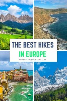 hiking trails The best hikes in Europe by season. Your ultimate guide of where and when to go. From moderate gorgeous coastal walks to harder hiking trails in the Alps Hiking Europe, Hiking Tours, Camping And Hiking, Hiking Trails, Backpacking, Waterfall Trail, Destinations, G Adventures, Outdoor Adventures