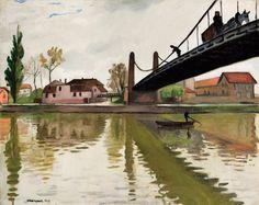 Albert Marquet - Pont de Conflans (1911)