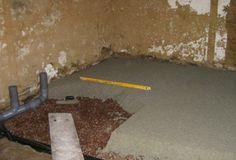 Lightweight hemp-lime floorslab