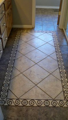 Glass Mosaic Tile Art: Mosaic Floor Tile Floor Installation-05 ...