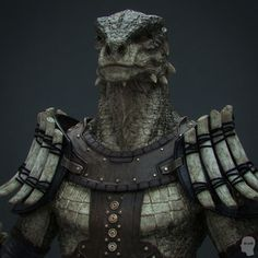 (*** http://BubbleCraze.org - Free family-friendly Android/iPhone game for all ages. ***) Argonian warrior