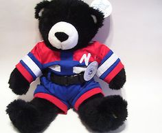 Noahs Ark Animal Workshop Black Teddy Bear and Outfit New With Tags