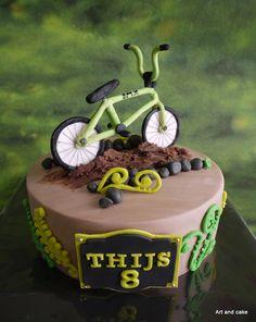 BMX cake/taart