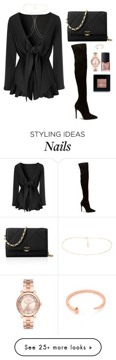"""""""Untitled #297"""" by hayleyl22 on Polyvore featuring Glamorous, Michael Kors, Miss Selfridge, NARS Cosmetics, Bobbi Brown Cosmetics and Giles & Brother"""