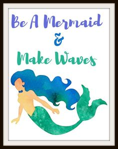 31 Best Free Mermaid Party Printables Images Party Printables