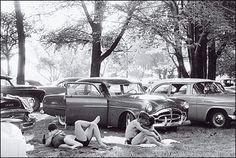 Robert Frank -- Public Park, Ann Arbor, Michigan