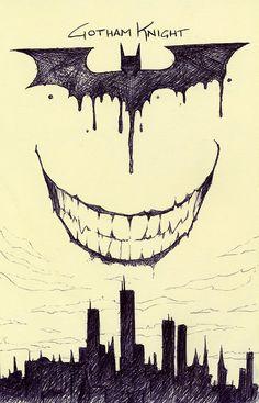 Gotham Knight by pencilfox