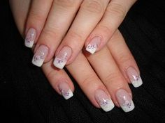 Nageldesign romantisch Wedding Nails, Nail Art, Beauty, Flowers, Mushroom Cut Hairstyle, Haircuts, Manicure, Ongles, Nails At Home