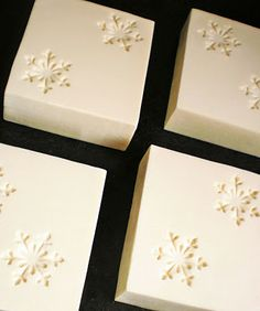 Beautiful soap stamps. savonsfantaisies.blogspot.fr