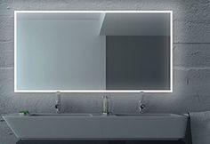 LED Badezimmerspiegel BADSPIEGEL Wandspiegel Bad Spiegel Lichtspiegel S100 (Breite: 130 x Höhe: 60 cm) badspiegeldirekt http://www.amazon.de/dp/B00XHVLBYS/ref=cm_sw_r_pi_dp_40F1wb01D5KAF