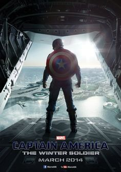 The first poster for Captain America: The Winter Soldier has landed. The Captain America: The Winter Soldier poster features star Chris. Captain America 2, Marvel Avengers, Hero Marvel, Avengers Movies, Winter Soldier Trailer, Winter Soldier Movie, Winter Soldier Marvel, Films Marvel, Bon Film