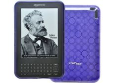 CrazyOnDigital Kindle 3 -Purple Loops TPU Case and Free Wristband. CrazyOnDigital Retail Package by CrazyOnDigital. $2.50. Carry your Amazon Kindle 3 in style with this unique designer series TPU case from CrazyOnDigital. This case has a durable yet bendable TPU exterior with a unique loop pattern design. It is available in 4 colors: clear, blue, purple and smoke. Keep your Kindle 3 safe and stylish with the CrazyOnDigital Kindle 3 TPU Case.
