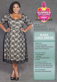 Kara Lace Dress; I've a wedding soon...this would be perfect!