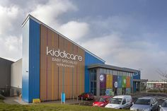 VIVIX® Exterior Façade Panels Part Of Playful Design At Morrisons Kiddicare | Products | Architects Journal
