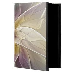 Floral Fantasy Gold Aubergine Abstract Fractal Art Powis iPad Air 2 Case