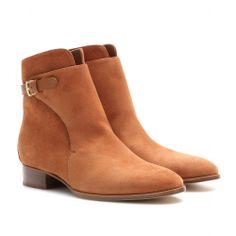 Wallis Suede Ankle Boots ∇ Loro Piana ◊ mytheresa