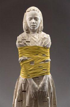 Marieaunet: Gehard Demetz - sculptures sur bois