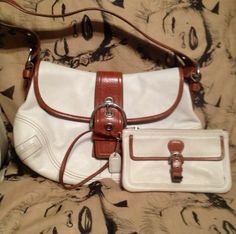 COACH Bag - with or without matching Wristlet..