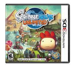Scribblenauts Unlimited Nintendo Wii U Video Game Complete for sale online Nintendo Games, Nintendo Switch, Super Nintendo, Xbox 360, Videogames, Mundo Dos Games, 3d Mode, Pump It Up, The Originals