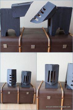 Ritterhelm aus Box gemacht                                                                                                                                                      Mehr