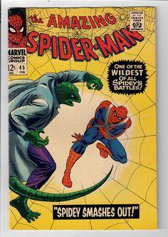 AMAZING SPIDER-MAN (v1) #45: Grade 7.5 - Battles The Lizard!  http://www.ebay.com/itm/AMAZING-SPIDER-MAN-v1-45-Grade-7-5-Battles-Lizard-/302058359925?roken=cUgayN&soutkn=tOzr88