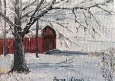 Apple Barn by Linda W Clark