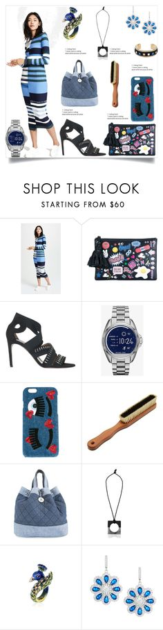 """""""Maxi Dress in Eclipse"""" by camry-brynn on Polyvore featuring Opening Ceremony, Anya Hindmarch, Alaïa, Chiara Ferragni, The Laundress, Chanel, Nehera, Fantasia by DeSerio and HIRSCHELL"""