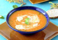 Het recept voor 'Winterse linzensoep met Kokosmelk' komt uit Veggie op kot, een initiatief van EVA vzw en Argus vzw, 68 pagina's.