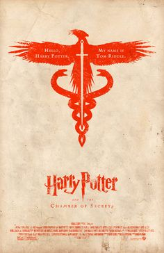 Alt movie posters.  Harry Potter and the Chamber of Secrets.