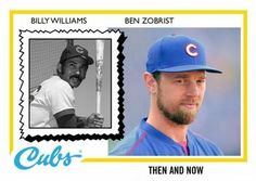 2016 Topps Throwback Thursday #117 Billy Williams / Ben Zobrist Front