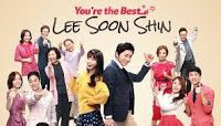 Youre The Best March 3 2016   You're the Best Lee Soon-shin March 3 2016 tagalog dubbed full episode replay. You're the Best Lee Soon-shin (Hangul: 최고다 이순신; RR: Choegoda Yi Sun-sin) is a 2013 South Korean television series starring IU Jo Jung-suk Go Doo-shim Lee Mi-sook Yoo In-na Son Tae-young Go Joo-won and Jung Woo. Fifty episodes aired on KBS2 from March 9 to August 25 2013 at 7:55 pm on Saturdays and Sundays. The drama is about a family devastated after the sudden death of the father…