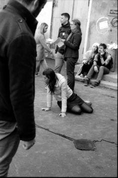 Katya Romanova street scene absolutearts.com