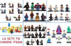 GroopDealz   8 Piece Building Block Figures - 13 Sets! #groopdealz