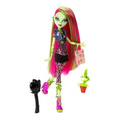 monster high dolls at DuckDuckGo Monster Dolls, Monster High Toys, Love Monster, Monster Mash, Monster High Collection, Plant Monster, Personajes Monster High, Mattel, Doll Stands