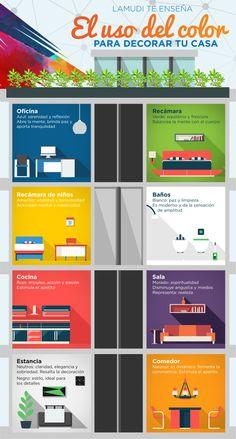 Colores adecuados para cada espacio : PintoMiCasa.com