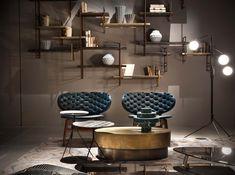 BAXTER paola navone fauteuil cuir Lyon