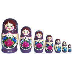 Matryoshka Doll!! Love These, used to play with my mom's when i was a kid!!